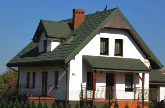 Зеленые элементы кровли и фасада
